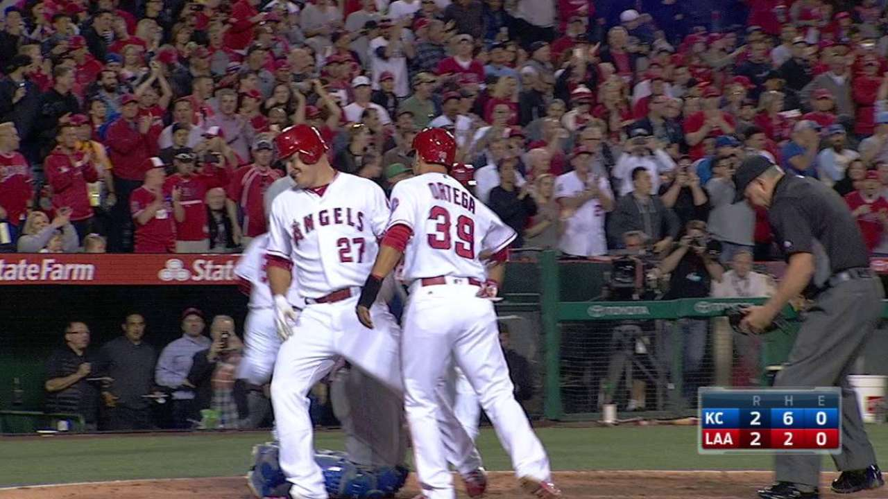 How sweep it is: Angels riding high