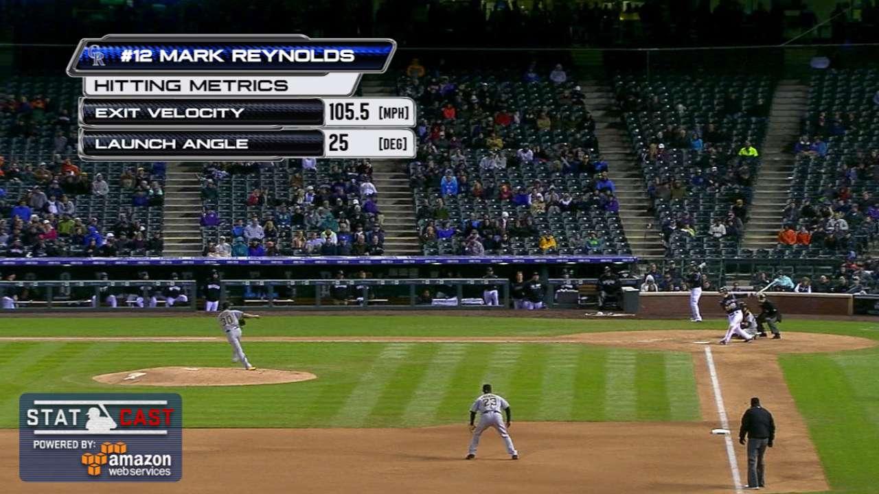 Statcast: Reynolds' long homer