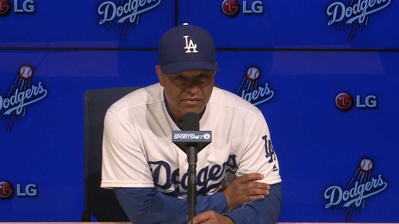 Dodgers handed first three-game skid of season
