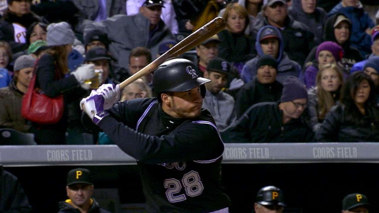 Rockies hit four home runs