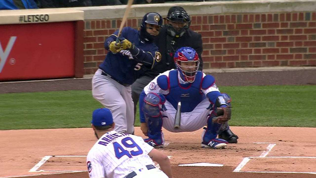 Cubs cruise over Brewers behind Arrieta