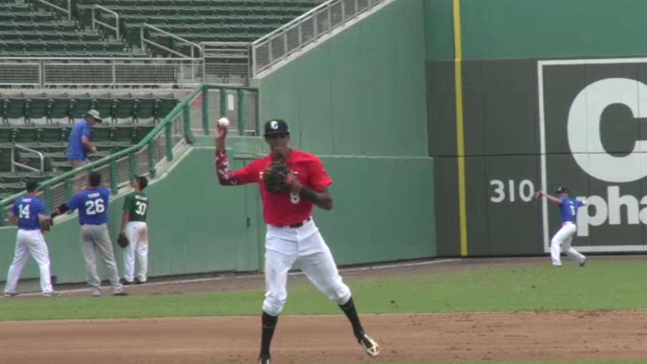 2016 Draft: Delvin Perez, SS