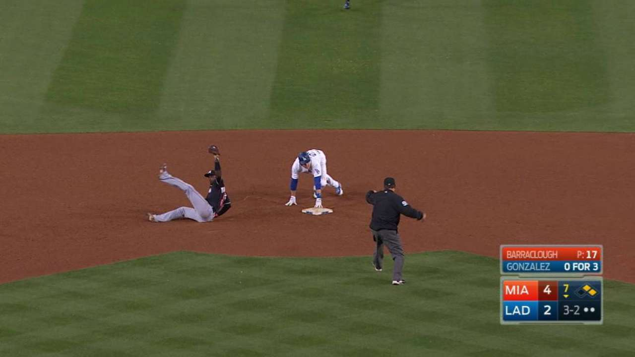 Bour's heads up play
