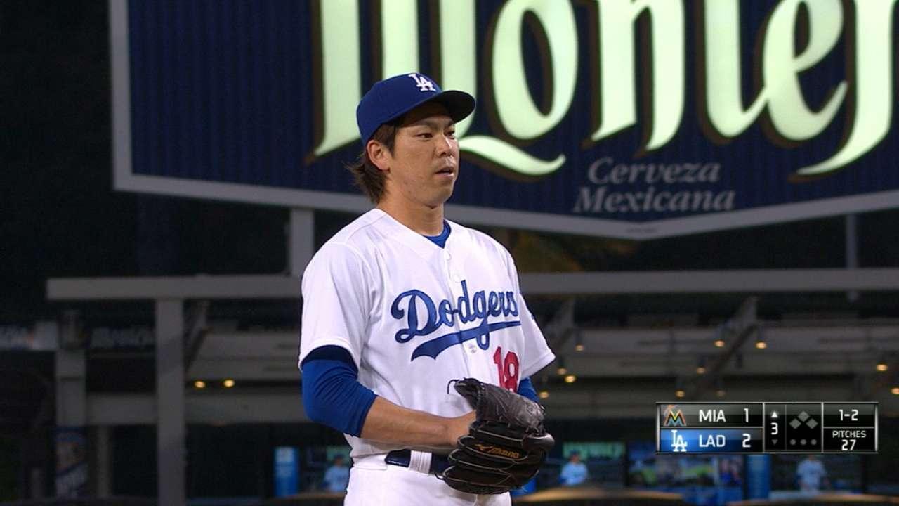 Dodgers tweak rotation so Maeda faces Jays