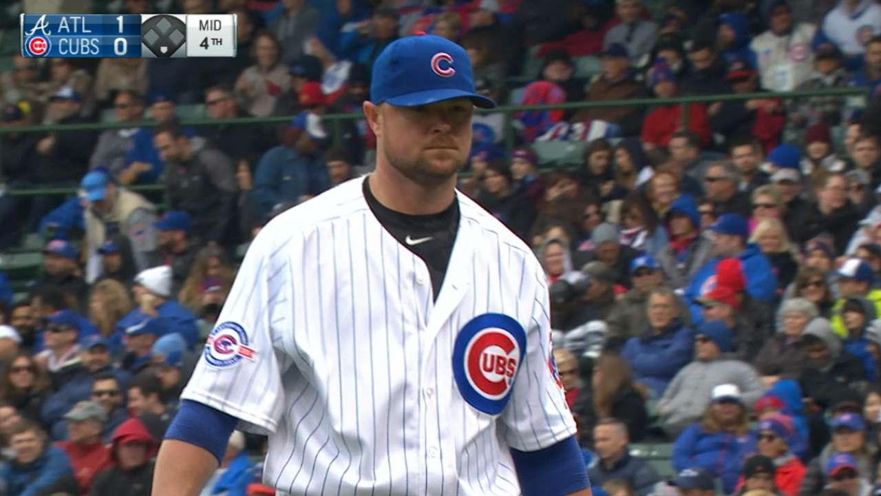 Lester's stellar outing