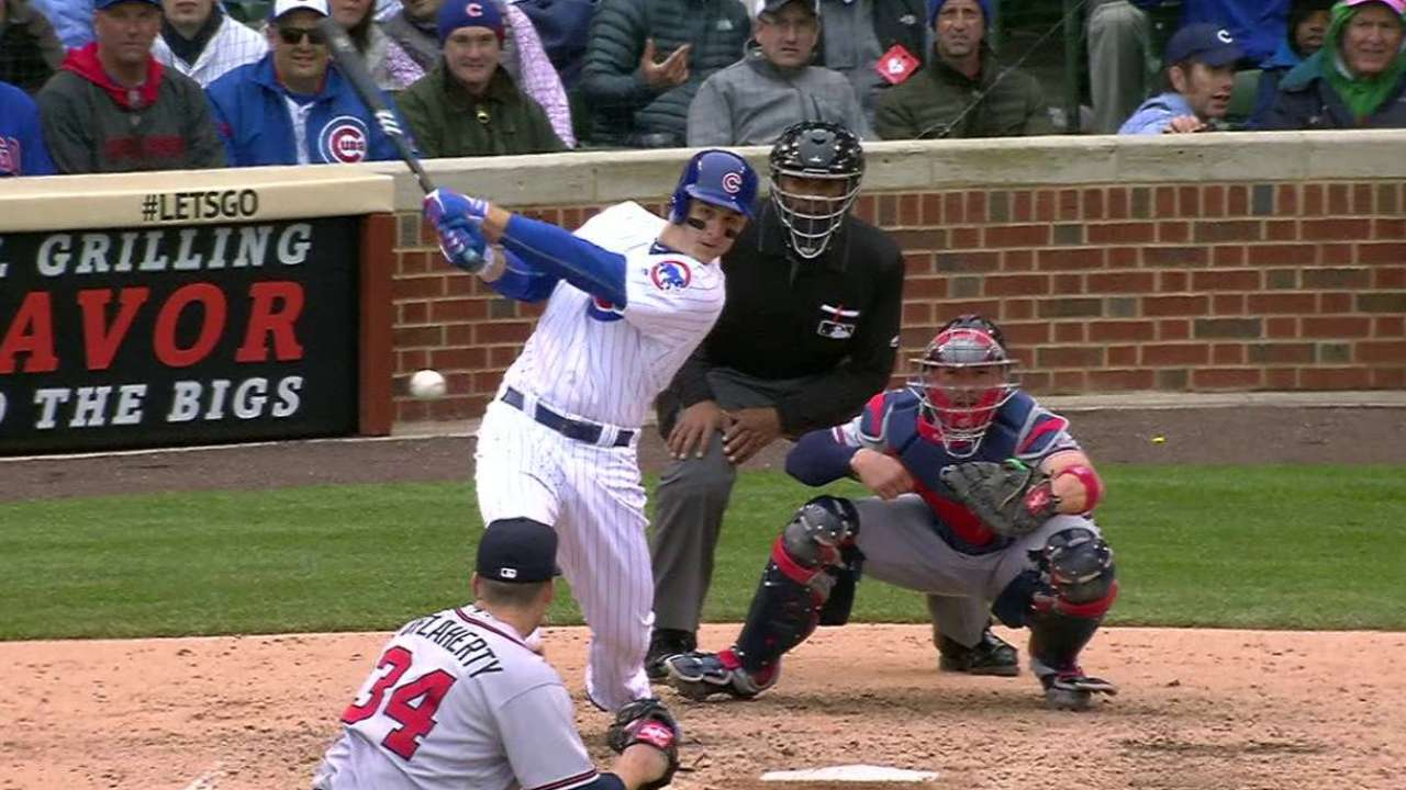 Cubs come alive late to rally over Braves