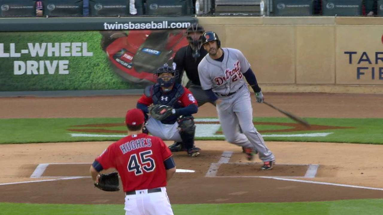 Martinez's RBI double