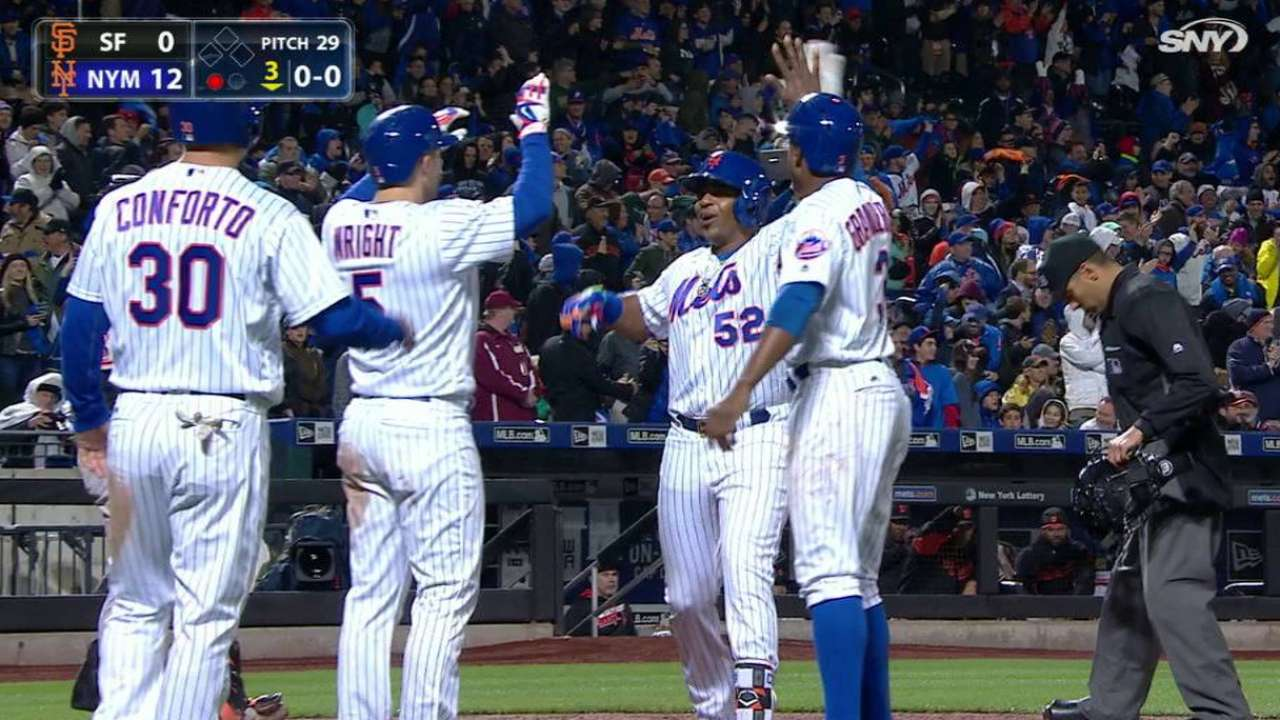The Walk Off: Mets ride historic 12-run inning to victory
