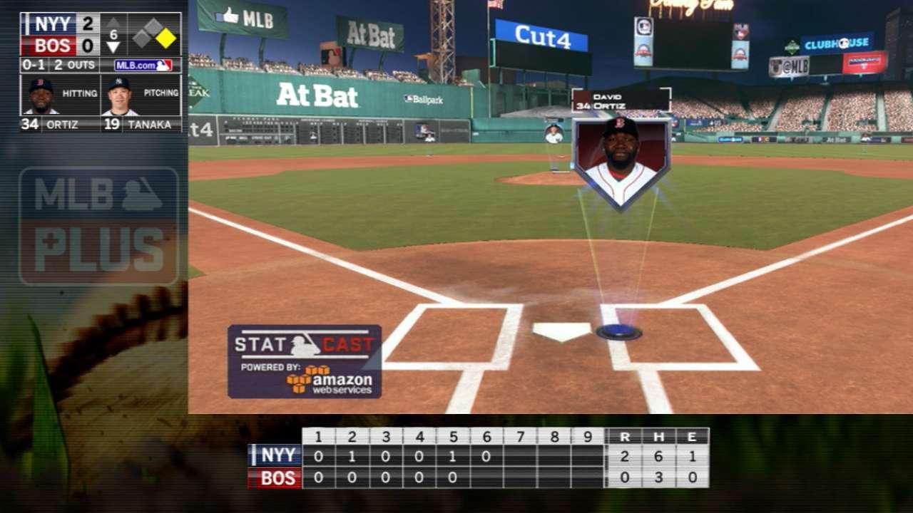 MLB Plus: Papi hustles to first