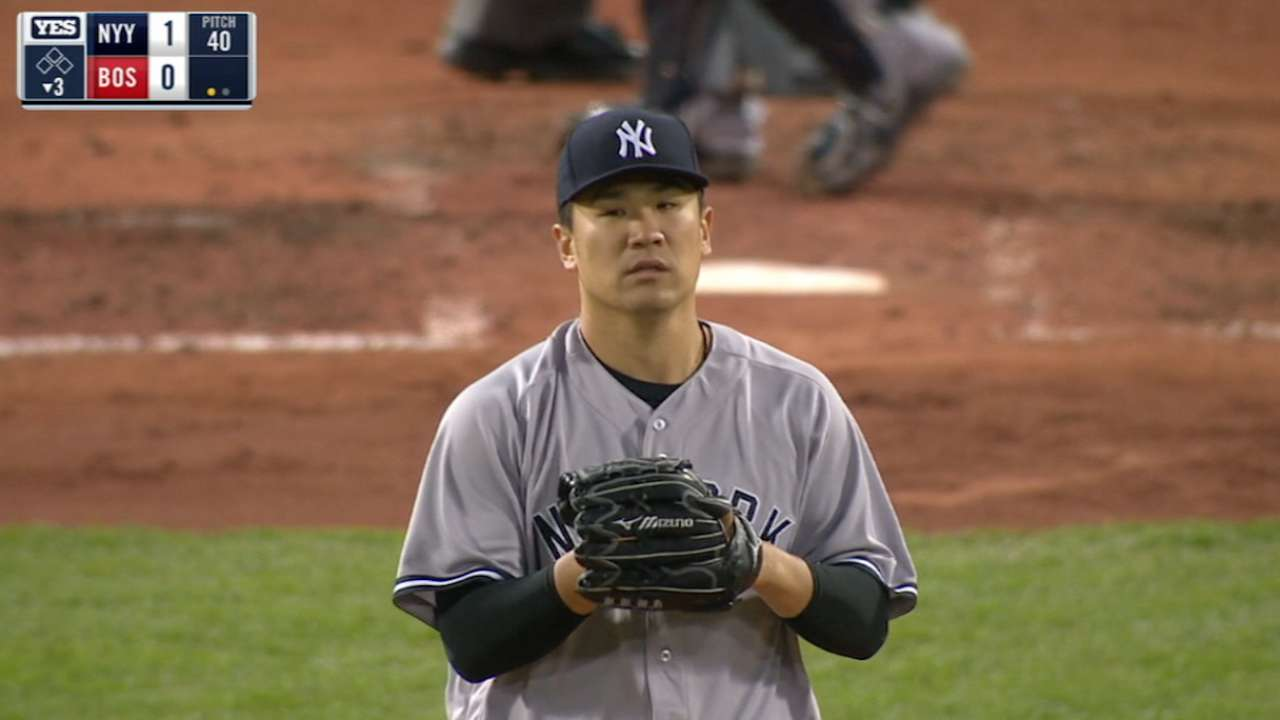 After dominating, Tanaka stumbles in seventh