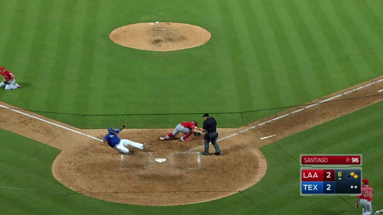Wide throw by Simmons looms big for Halos