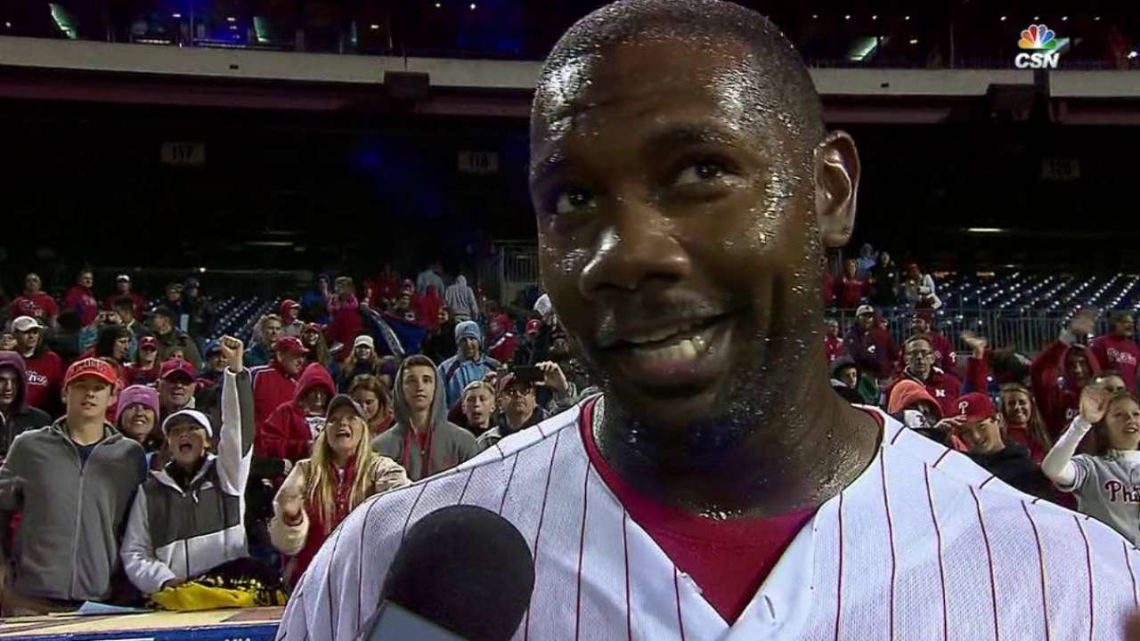 Howard on walk-off, mindset