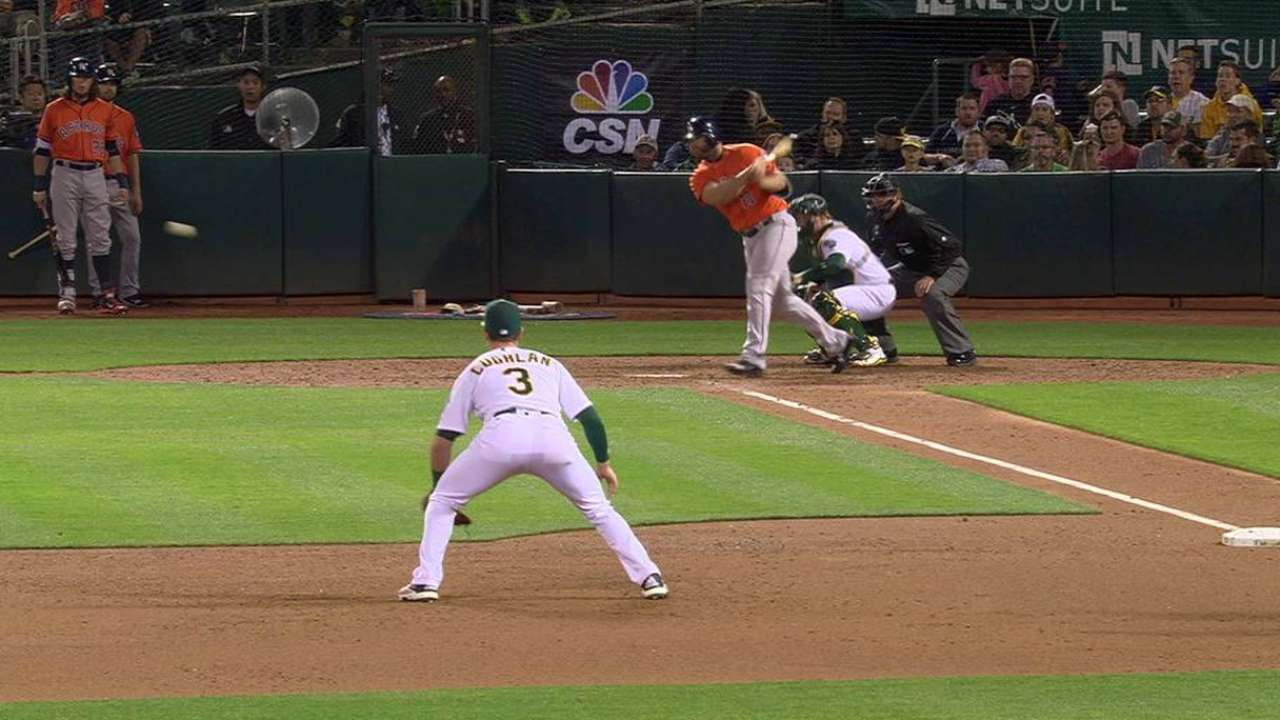 Gattis' RBI single