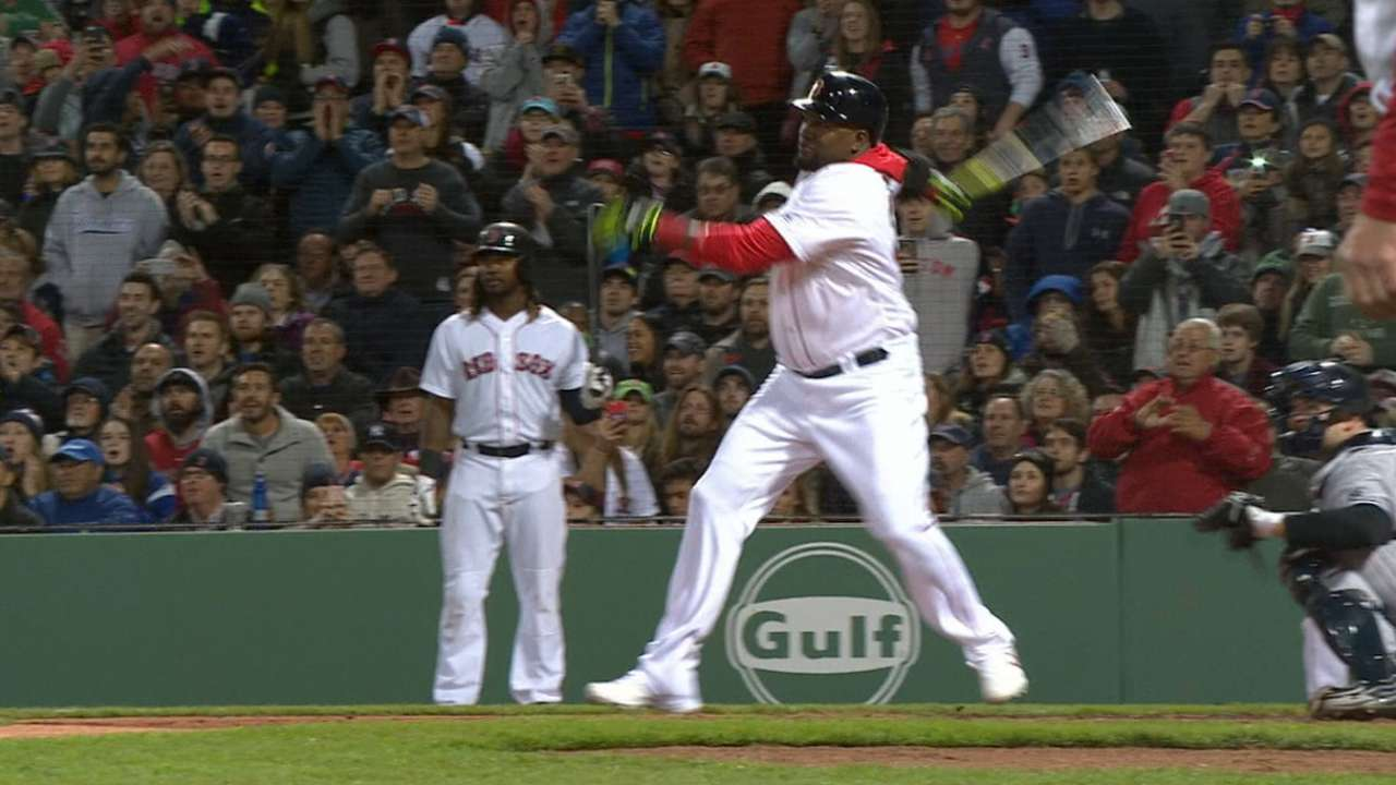 Papi goes oppy: Monster HR tops Yanks