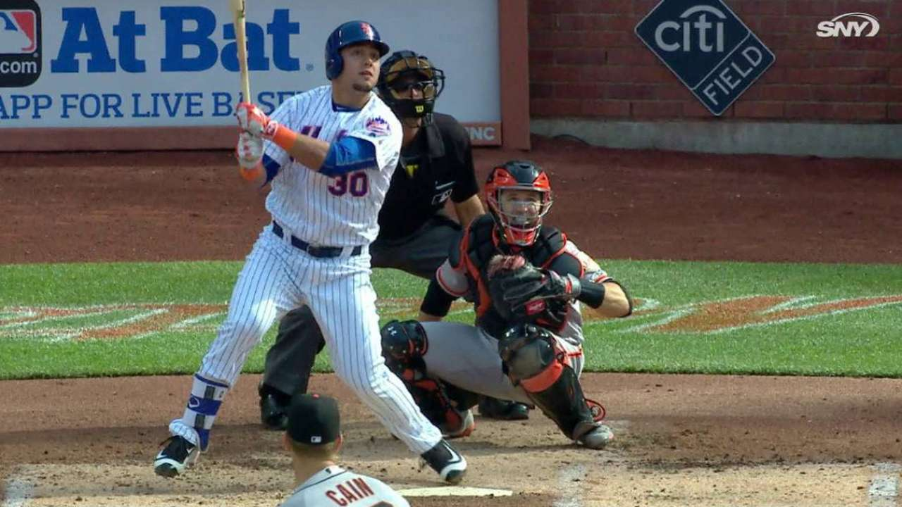Conforto's two-run double