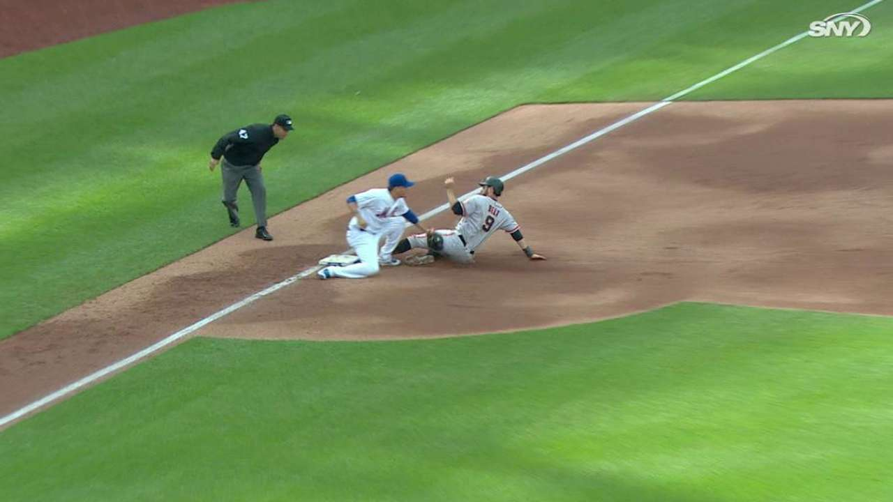 Duda throws out Belt at third