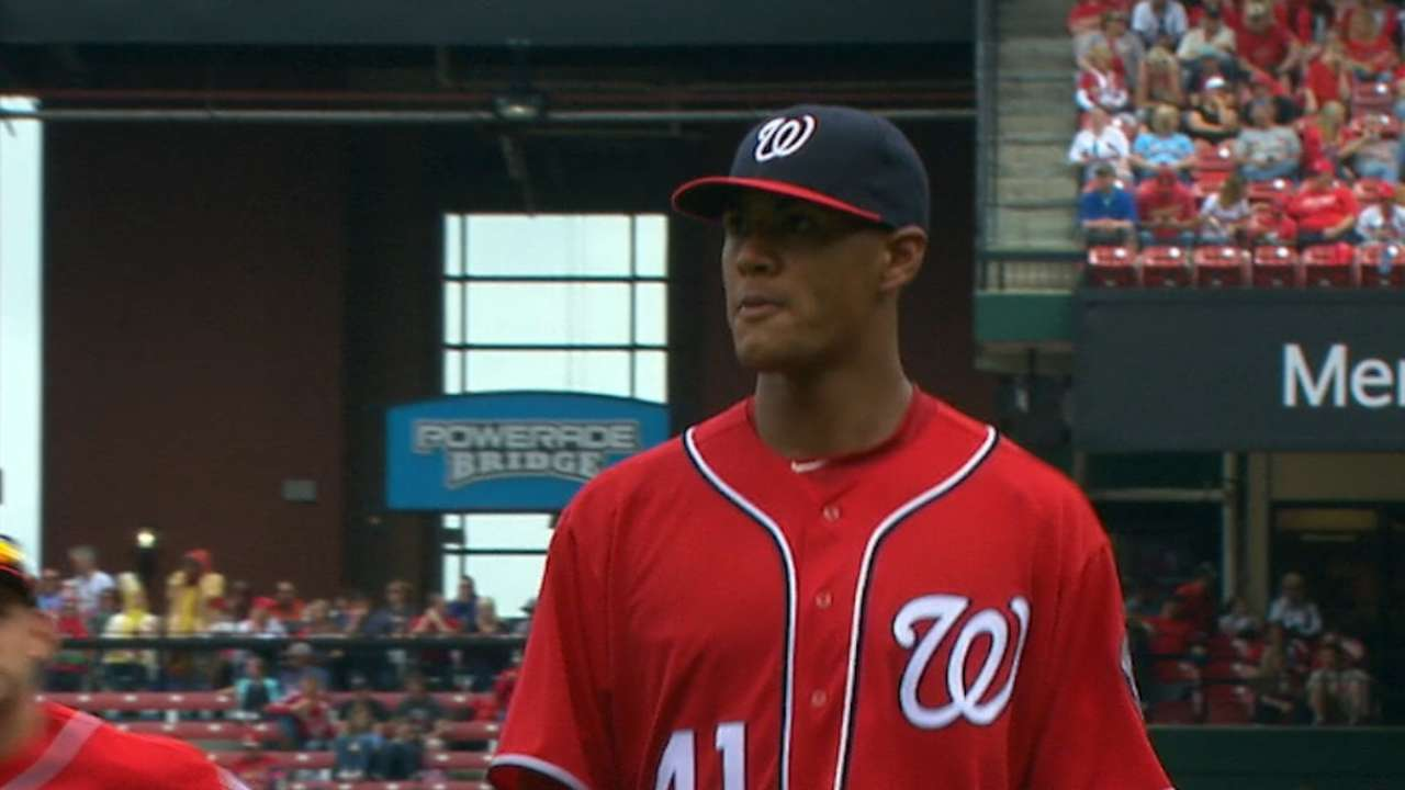 Ross impressing in Nats' star-studded staff