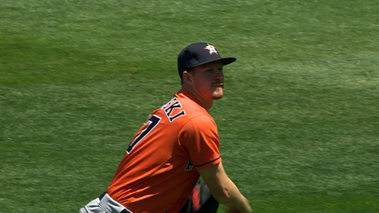 Looking forward, Astros 'ready to turn the page'