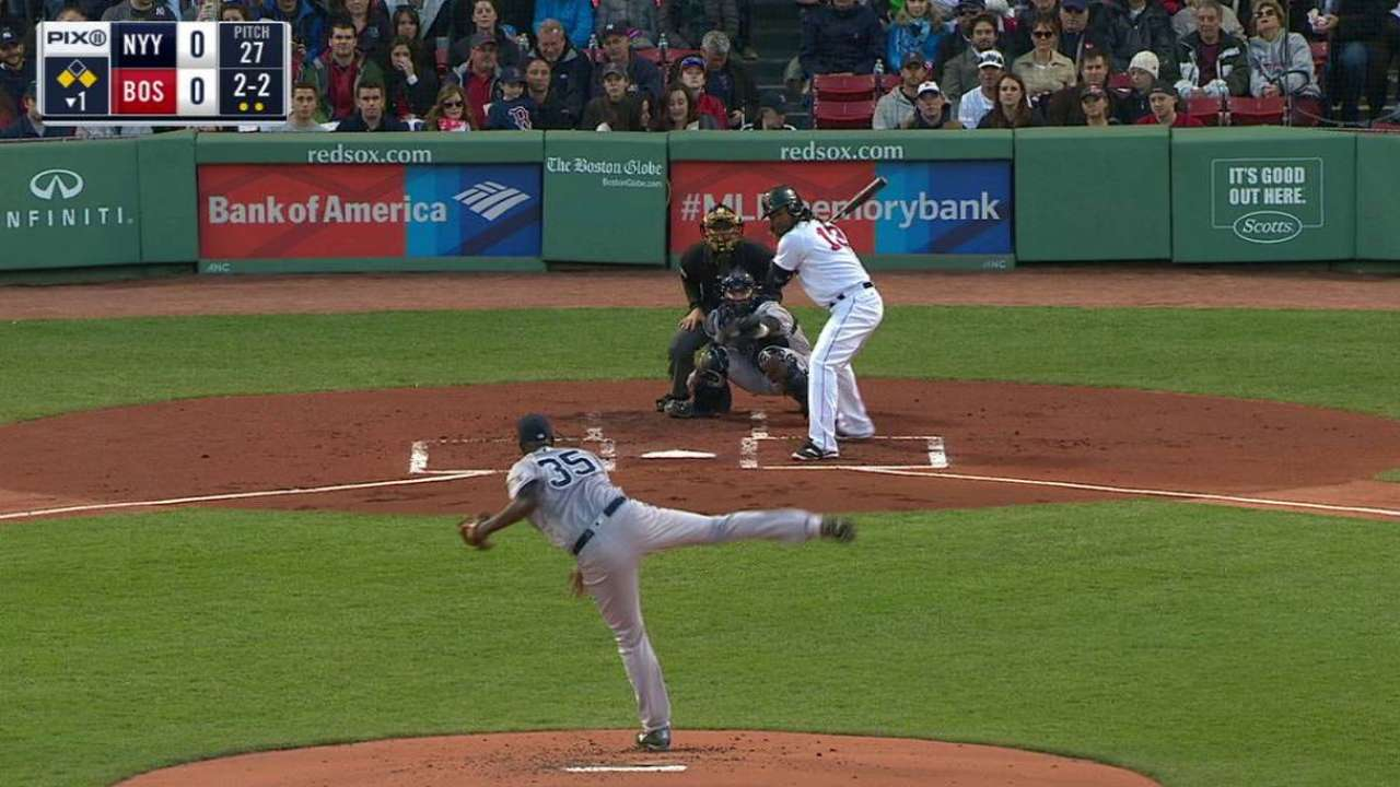 Yankees left with sinking feeling at Fenway