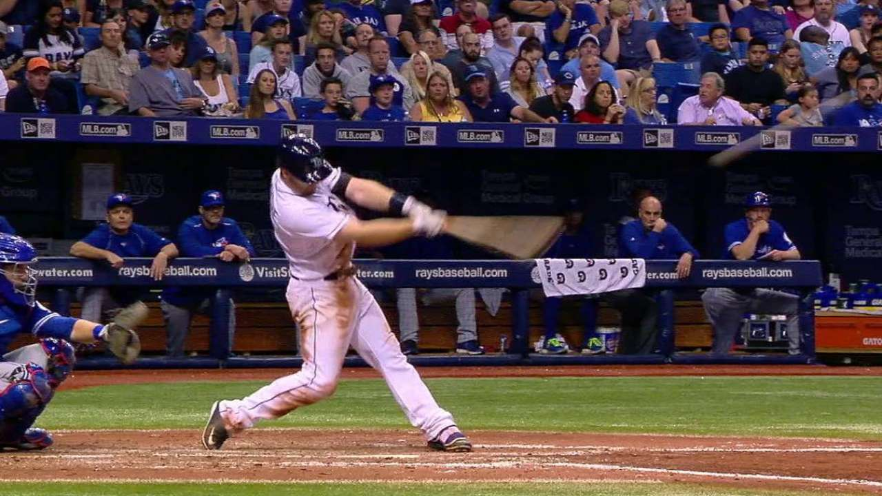 Forsythe's game-tying solo homer