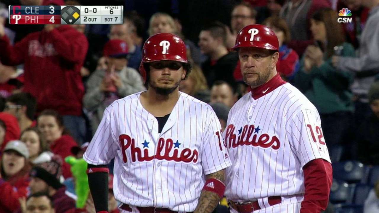 Home run nice, but clutch hit nicer for Galvis