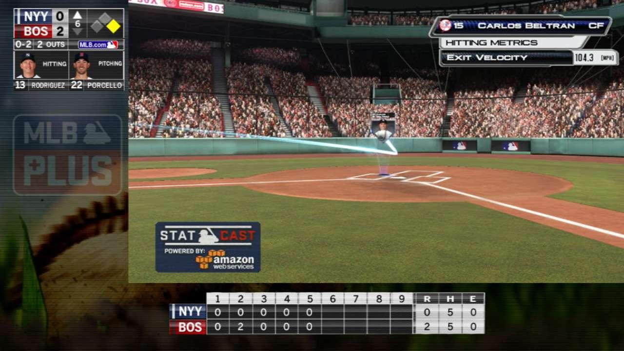 MLB Plus: Beltran's single