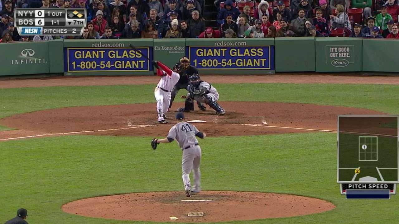 Red Sox Ride Hot Bats to Hand Yankees 4th Straight Loss, 8-0