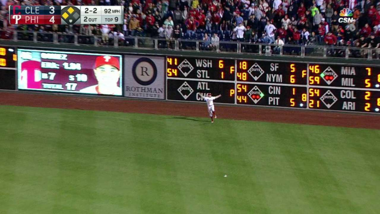 Bourjos' leaping catch