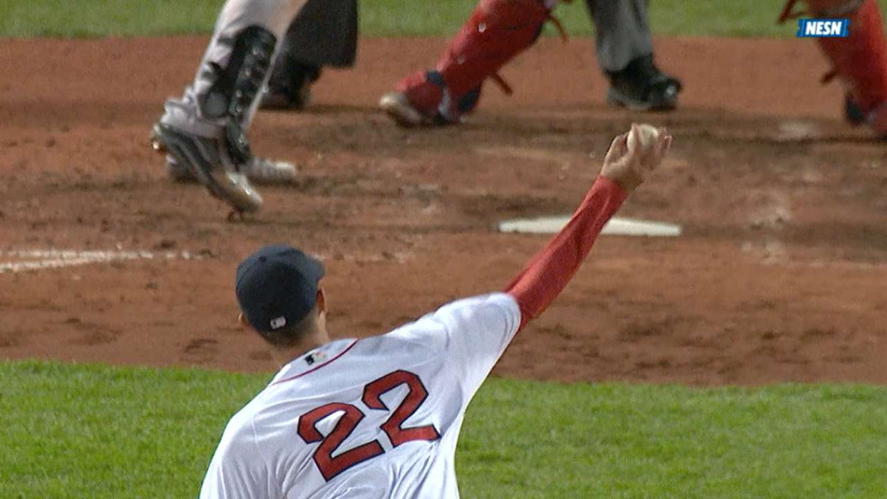 Red Sox rout Yankees behind Porcello, JBJ