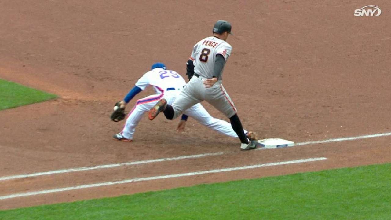 Wright's great barehanded grab