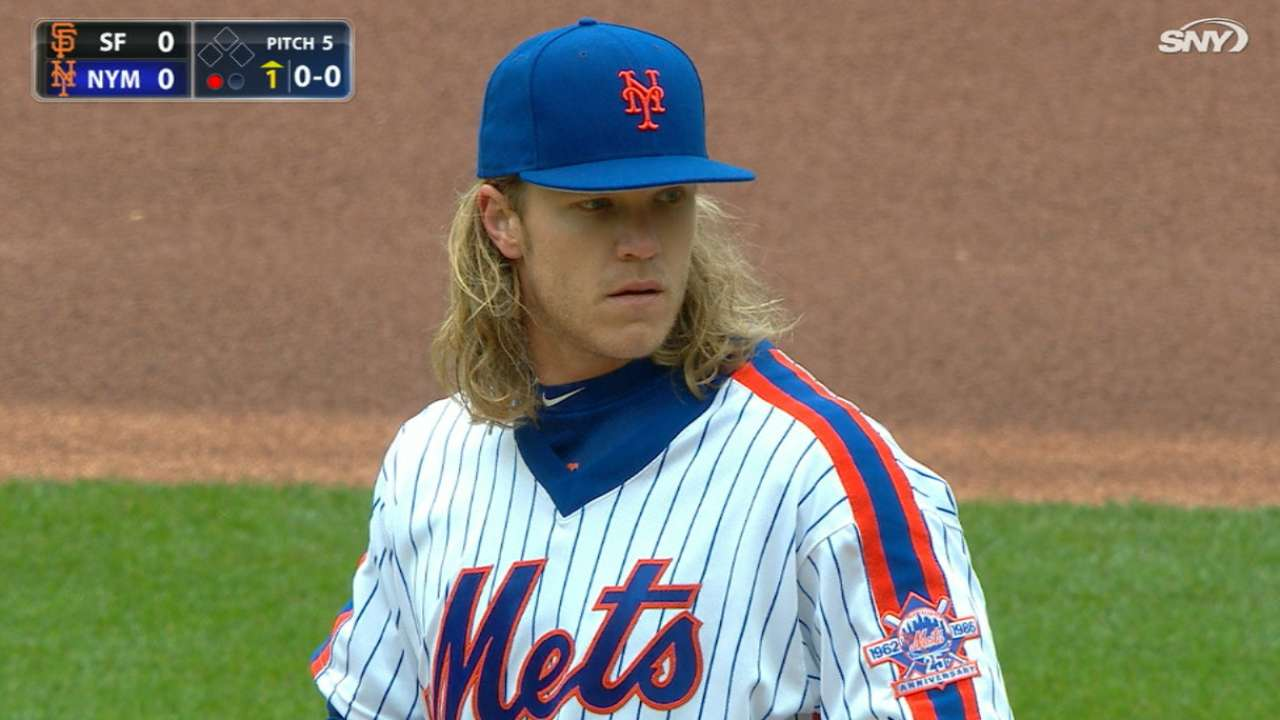 Syndergaard can't contain running Giants