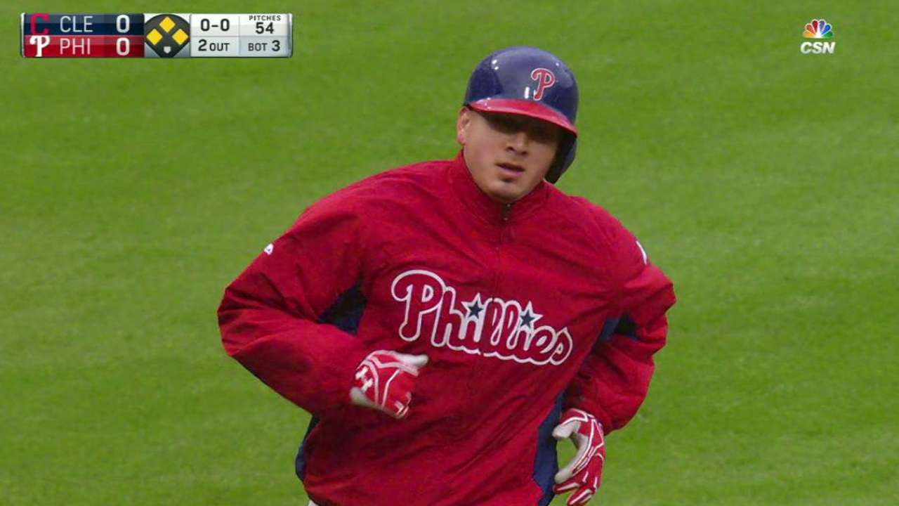 Velasquez leads surging Phillies to sweep