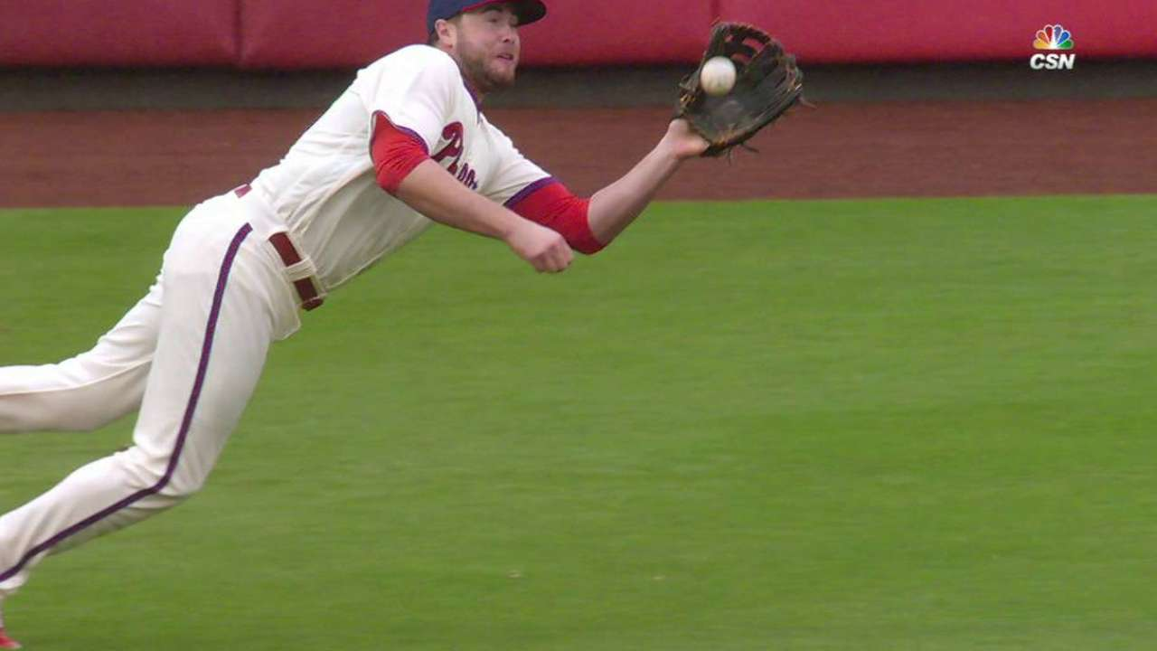 Ruf's great grab ends the inning