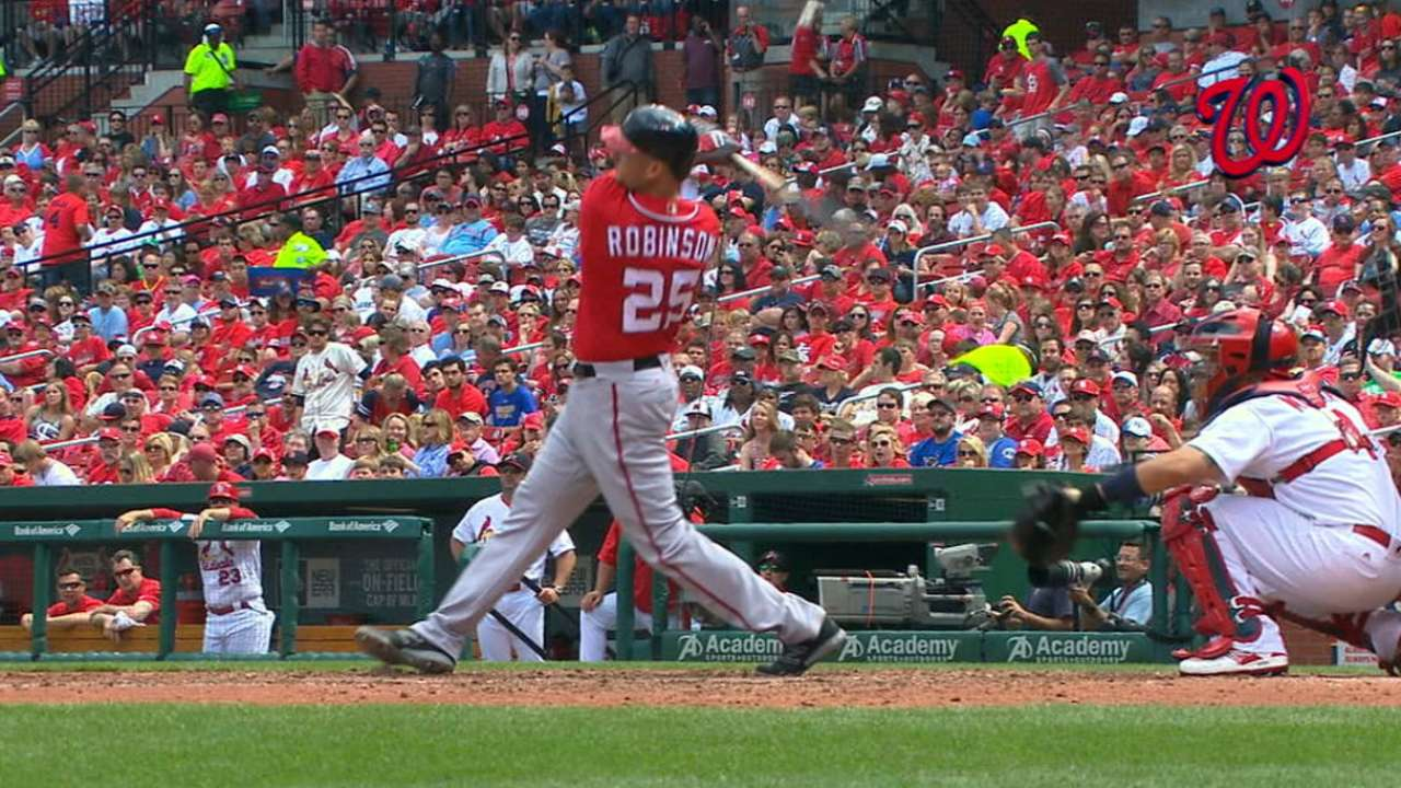Nats hit back-to-back home runs