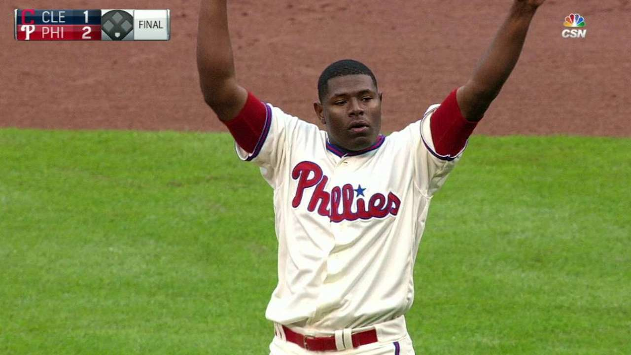 Save Neris: Fill-in picks up 1st save