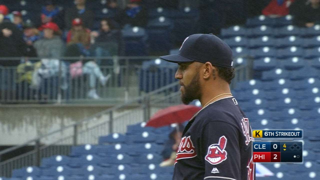 One slip gets Salazar in loss to Phillies