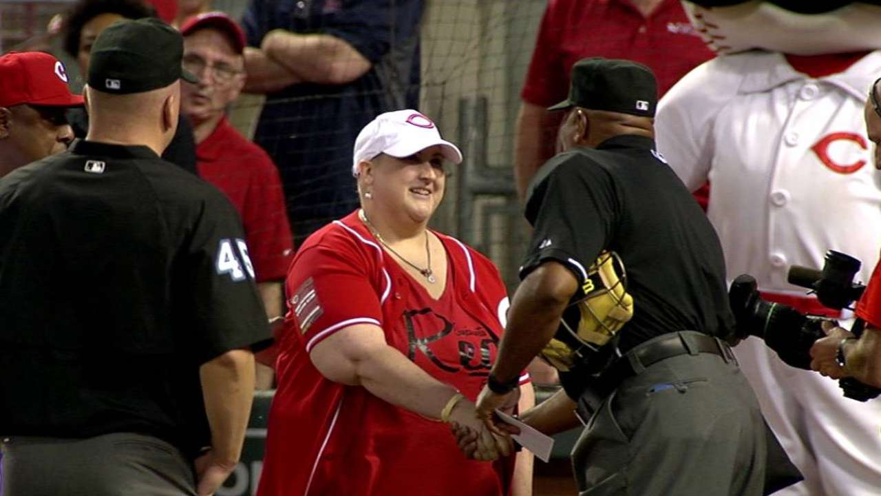MLB unveils Honorary Bat Girl winners