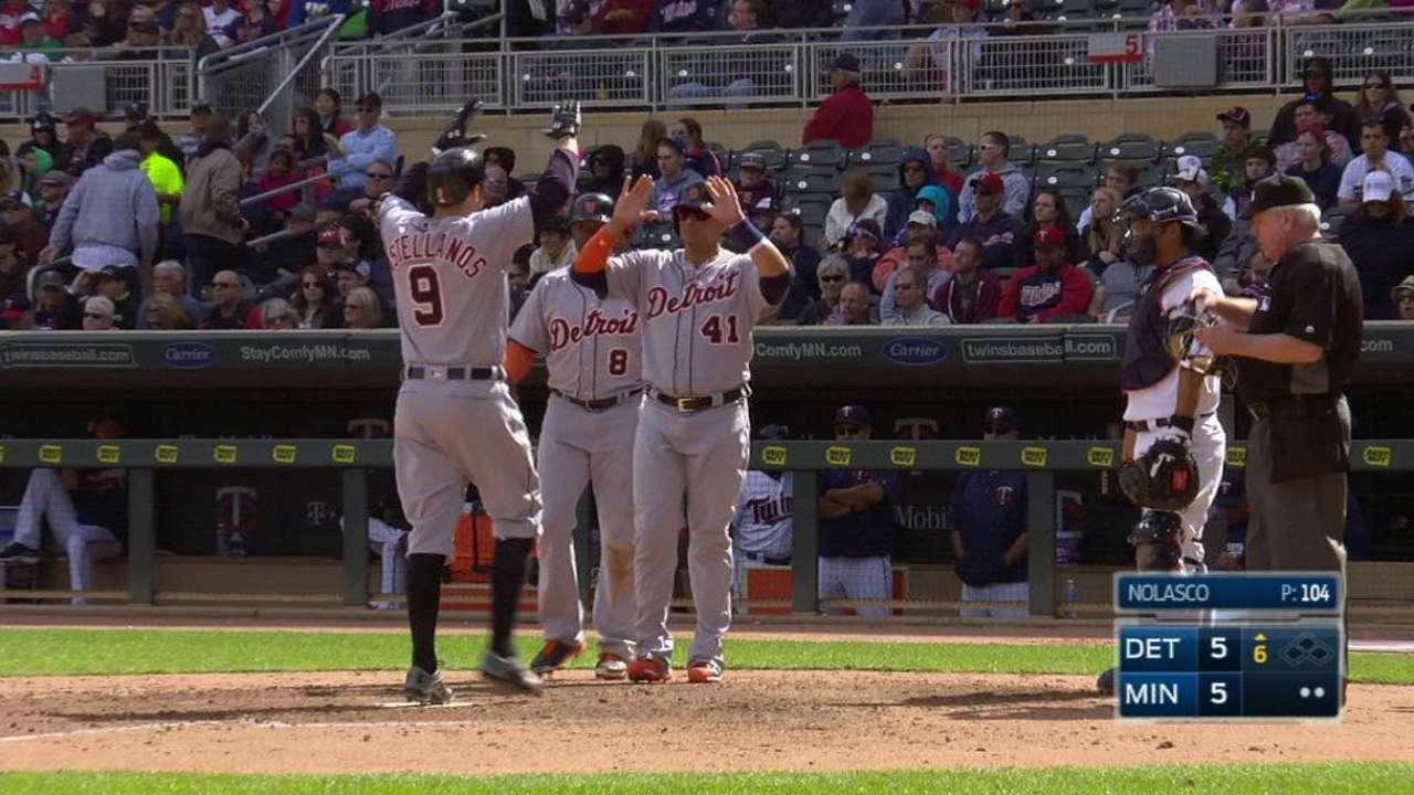 Nick the stick: Castellanos maturing as hitter