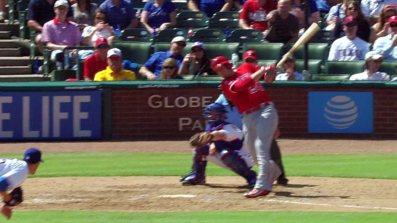 Cron's two-run single