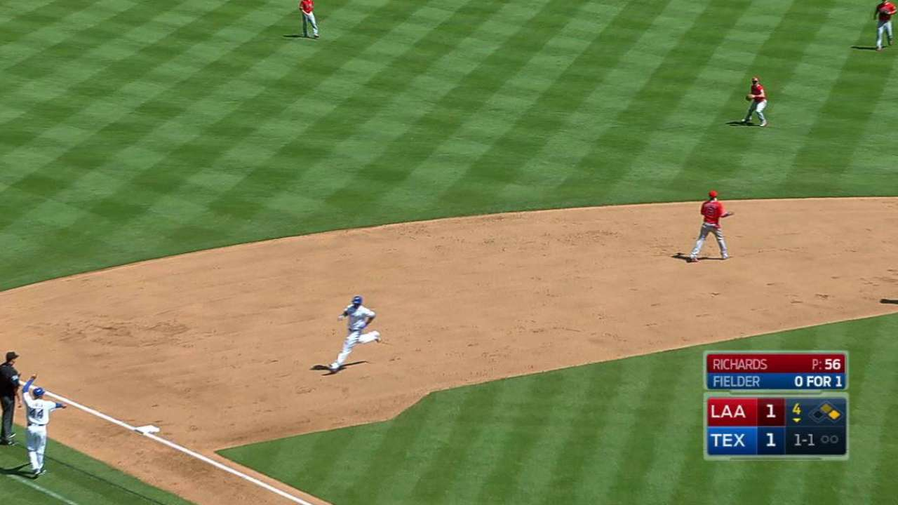 Error moves Beltre to third