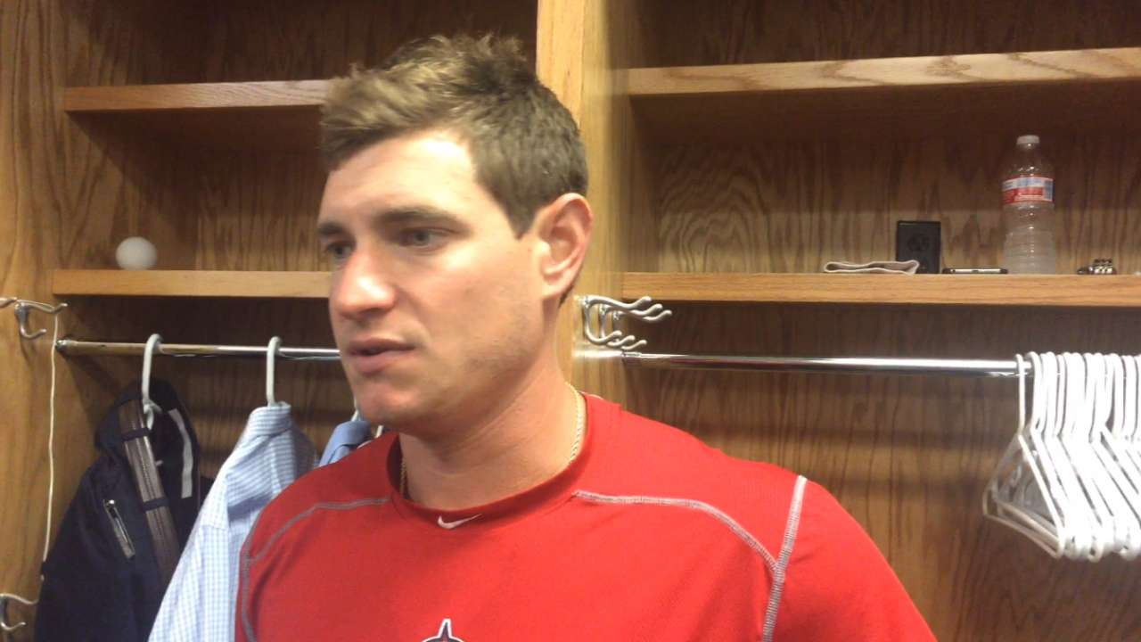 Angels scratch Richards from Friday start