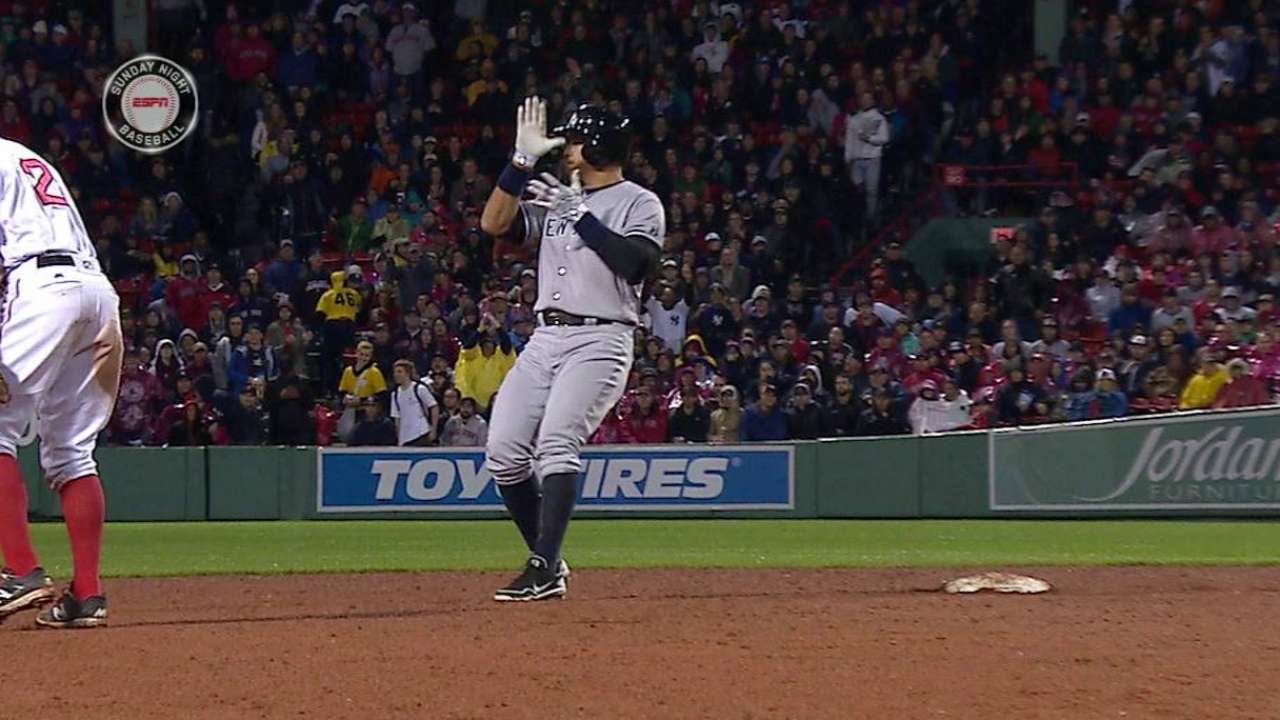 A-Rod's two-run double