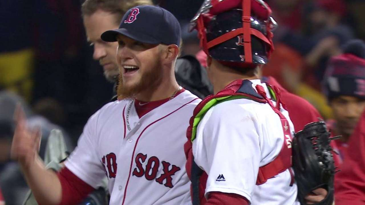 Kimbrel slams the door