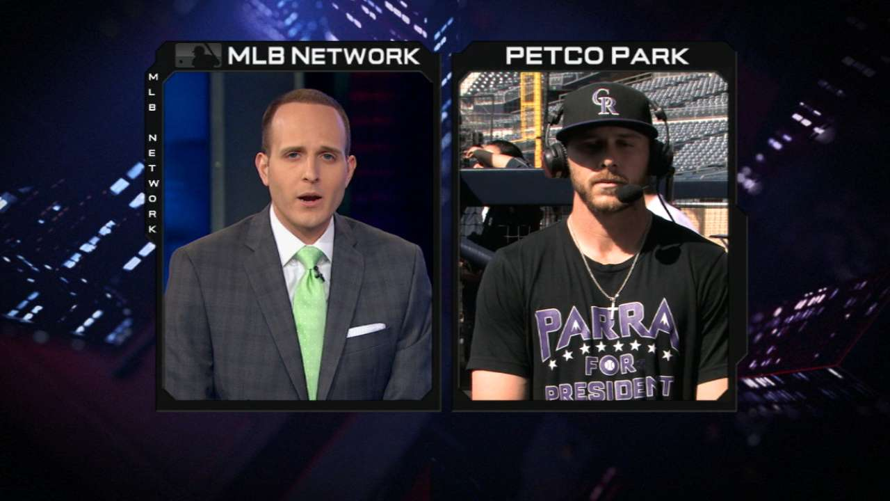 Trevor Story joins MLB Tonight
