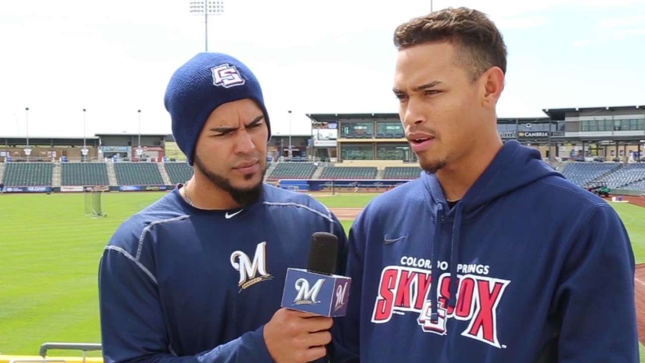 Top prospect Arcia dabbling at second base