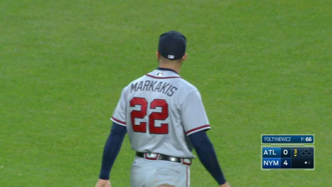Markakis leaves Braves to tend to family matter