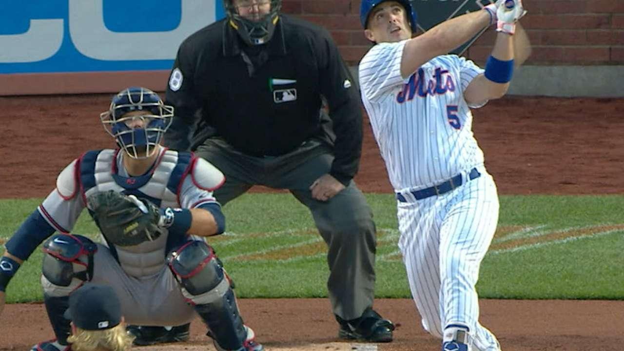 Mets pound 3 HRs in Colon's milestone win