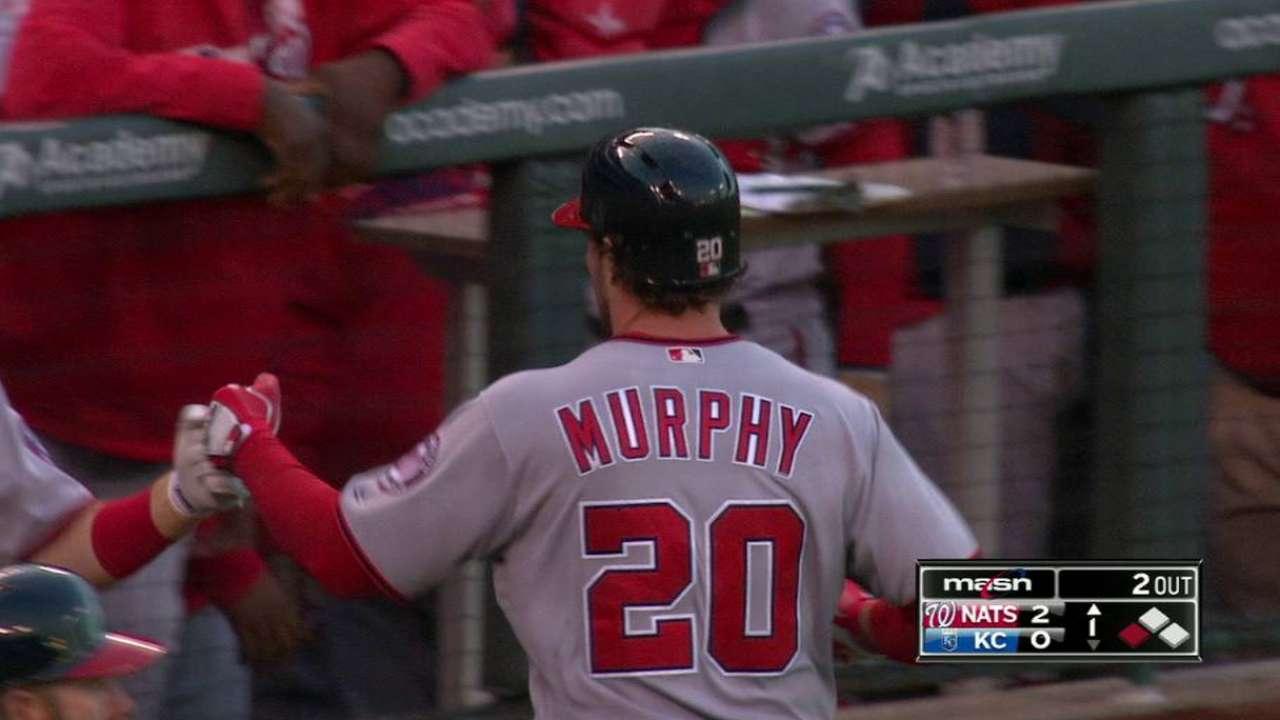 Murphy's RBI groundout