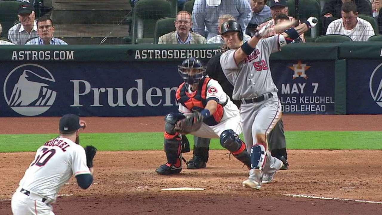 Park's two-run triple