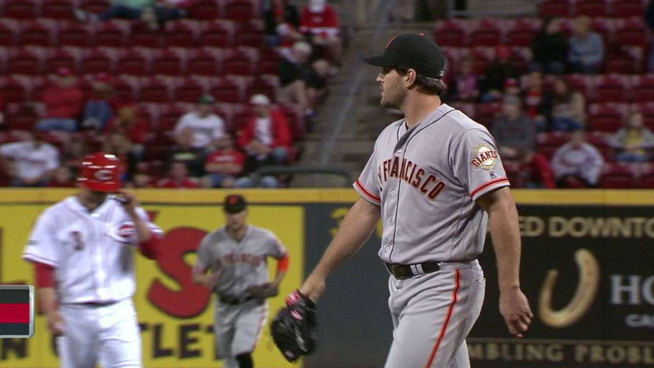 Giants turn two, get out of jam